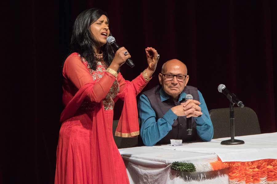 Suryakumar Pandey amusing the magnificent voice
