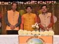 काव्य श्रंखला २०१७ के कवि श्री सुदीप भोला, डा० सुनील जोगी, और श्री गजेन्द्र सोलंकी