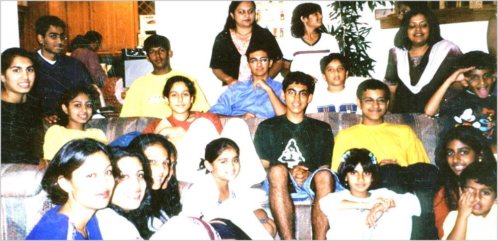 सुश्री रेणु गुप्ता की सिनसिनाटी, ओहायो हिन्दी कक्षा के छात्र