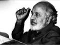 अगस्त १९८३ में सैन फ्रैनसिस्को शाखा द्वारा आयोजित तुलसी जयंती समारोह में बोलते श्री सच्चिदानन्द हीरानन्द वात्स्यायन 'अज्ञेय' जी