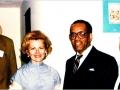 २० मई १९८२ को एशिया सोसाइटी के तत्वाधान में सिराक्यूज़ यूनिवर्सिटी, न्यूयार्क में आयोजित अधिवेशन में प्रतिनिधि के रूप में डा० रविप्रकाश सिंह